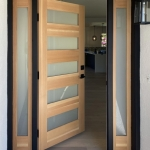 Entry Door (Open) with Sidelites