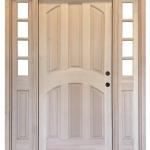 Entry Door with Sidelites (Interior Arch)