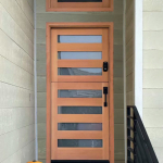 Entry Dutch Door with Transom