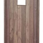 Flush Plank Entry Door