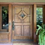 Victoria Park 1911 Craftsman Home Historical Restoration - Front Door