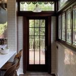 Victoria Park 1911 Craftsman Home Historical Restoration - Kitchen Door
