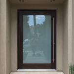 Pivot Door (Exterior View)