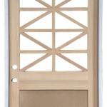 Inswing Door with Custom Geometric TDL Break-up