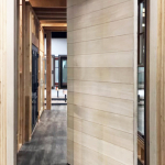 Rift Cut White Oak Horizontal Plank Square Grooves