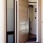 Pivot Entry Flush Door