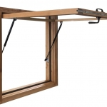Servery Awning Window (Exterior - Open)